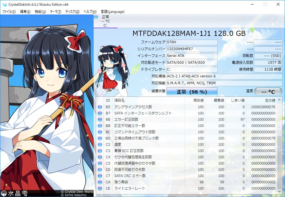SSD寿命
